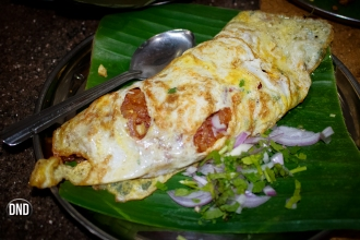 Egg Spring Roll, Appu shets, Car street , Mangalore
