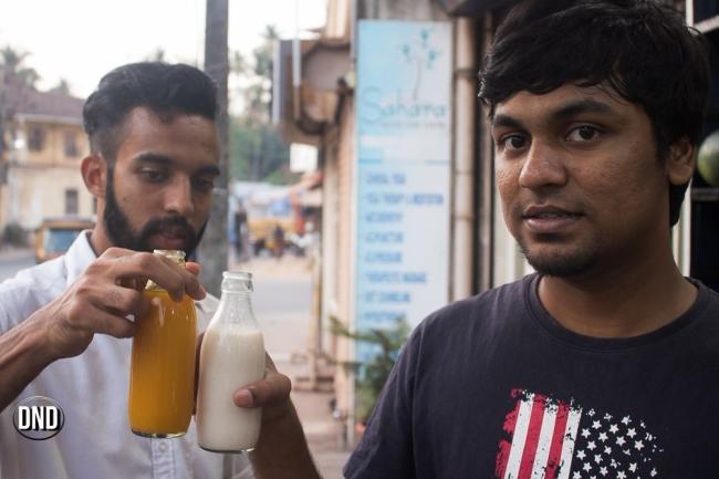 Ramaphal and Mango juice, Appu shets, Car street , Mangalore