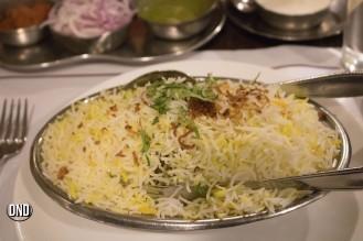 Mutton Dum biryani, Royal Darbar, Bendoorwell, Mangalore- What tempts my Palate