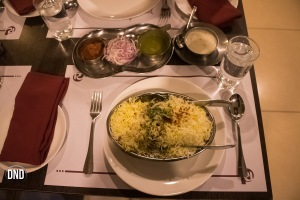 Mutton Dum biryani, Royal Darbar, Bendoorwell, Mangalore-What tempts my Palate