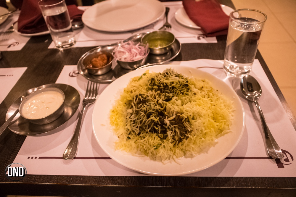 Mutton Dum biryani, Royal Darbar, Bendoorwell, Mangalore- What tempts my Palate