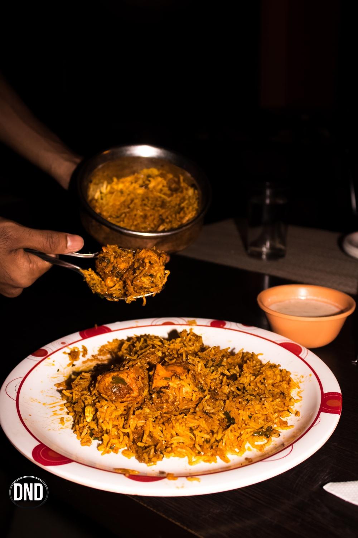 chicken tikka biryani at coconut grove, Bendoorwell, Mangalore - What tempts my Palate