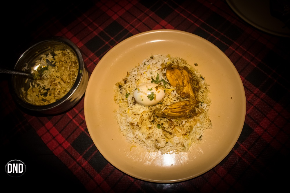 bhatkali biryani at Oota da mane, near St Aloysius college, Mangalore- What tempts my Palate