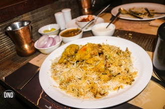 Lucknowi Biryani at Pind, ,Mangalore - what tempts my palate.
