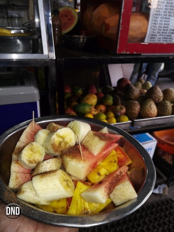 fruit salad bowl,Appu shets. Car street, Mangalore