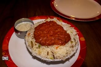 Chicken Keema biryani at Mangala, Valencia, Mangalore -What tempts my Palate