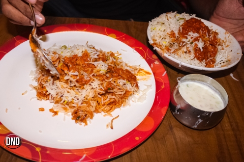 Chicken Keema biryani at Mangala, Valencia, Mangalore -What tempts my Palate