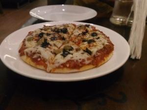 Pizza at cafe, Valencia, Mangalore