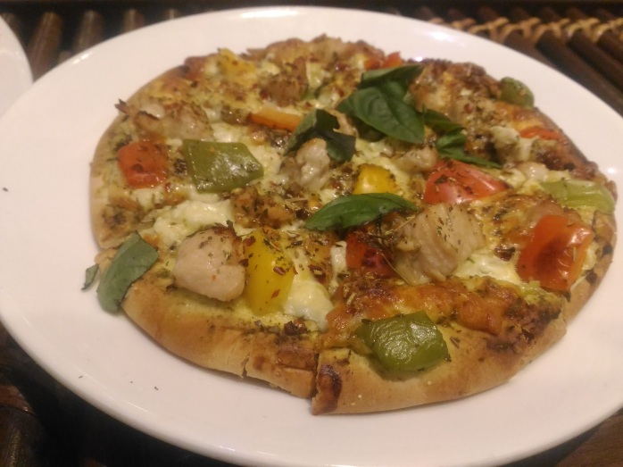Veg Lovers Pizza- Cafe, Valencia. Mangalore