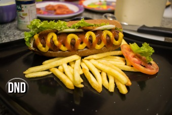 New York style hot dog at New Deli Cafe, Hoigebail, Urwa, Mangalore- What tempts my Palate