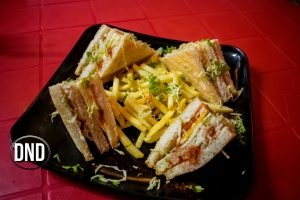 Chicken cheese club Sandwich at New Deli Cafe, Hoigebail, Urwa, Mangalore- What tempts my Palate