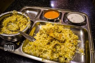 Prawns Biryani, Machali, Mangalore - What tempts my palate
