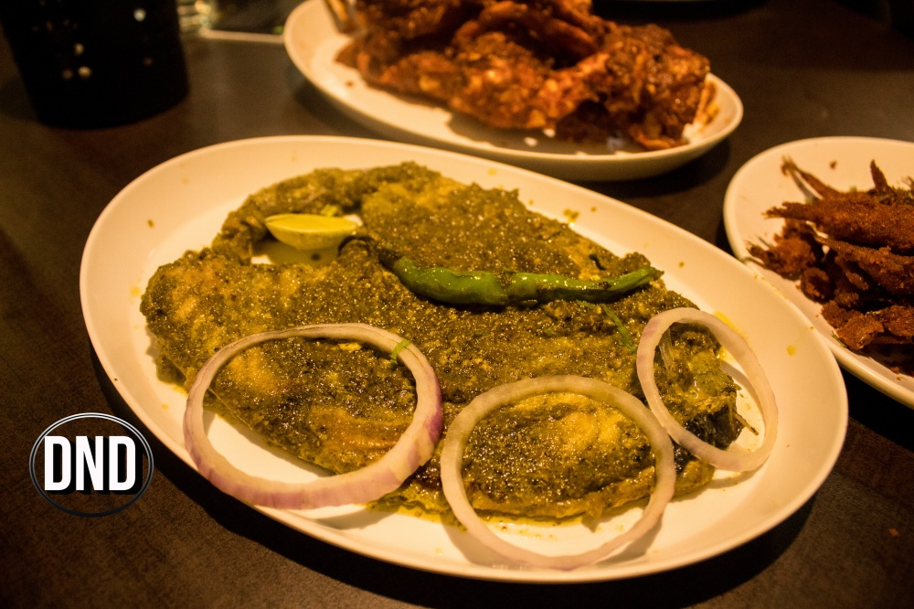 Anjal Green Masala at Fish Garage, Urwa, Mangalore- What tempts my Palate