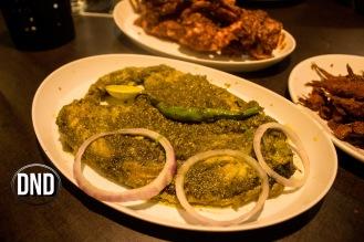 Anjal Green Masala at Fish Garage, Urwa, Mangalore- What tempts my Palate