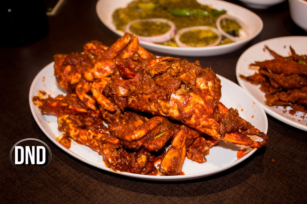 Crab ghee roast at Fish garage, Mangalore- What tempts my Palate