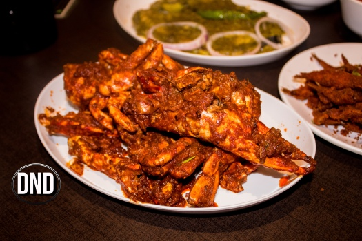 Crab ghee roast at Fish garage, Mangalore- What tempts my Palate