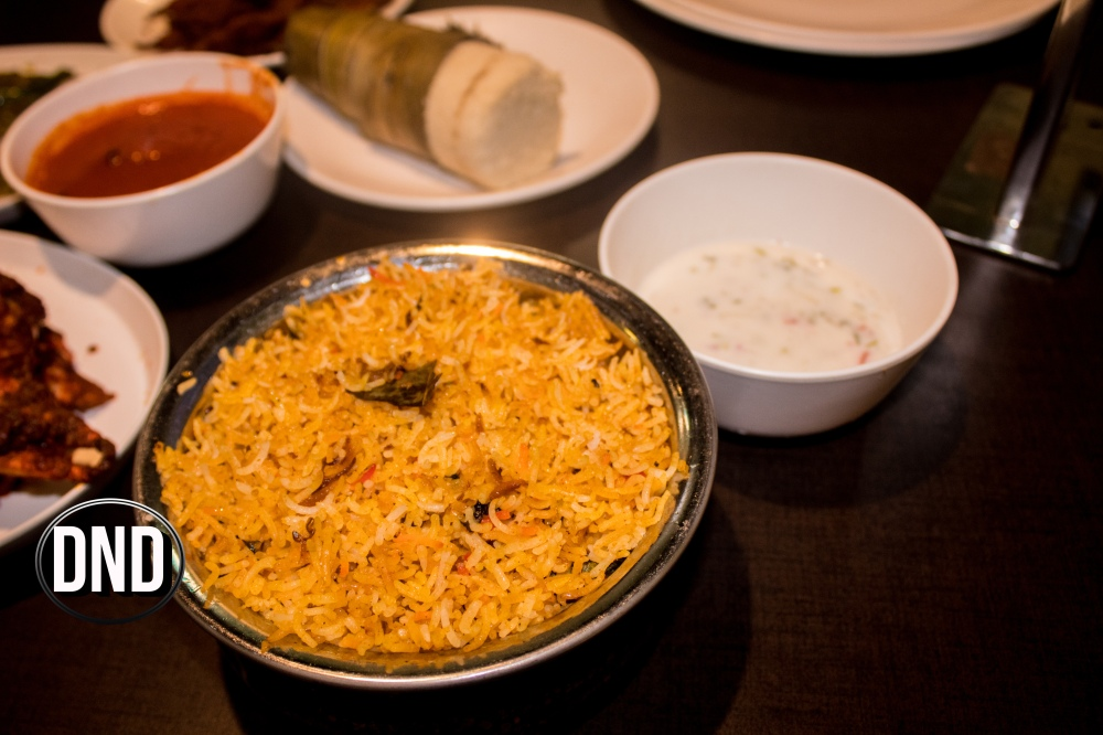 Lucknowi Prawns Biryani at Fish Garage, Mangalore- What tempts my Palate
