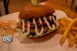Chimi Churri Chicken burger at Diesel Cafe, Balmatta, Mangalore- What tempts my Palate
