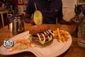 Chimi Churri Chicken burger at Diesel Cafe, Balmatta, Mangalore- What tempts my Palate