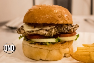 Chicken Steak Burger at brio cafe, St Aloysius College road, Mangalore- What tempts my Palate