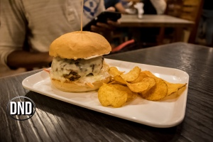 Lamb cheese Burst Burger at Brick house, Falnir, Mangalore- What tempts my Palate