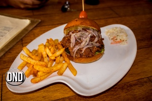 Pulled Pork Burger at Diesel Cafe, Balmatta, Mangalore- What tempts my Palate