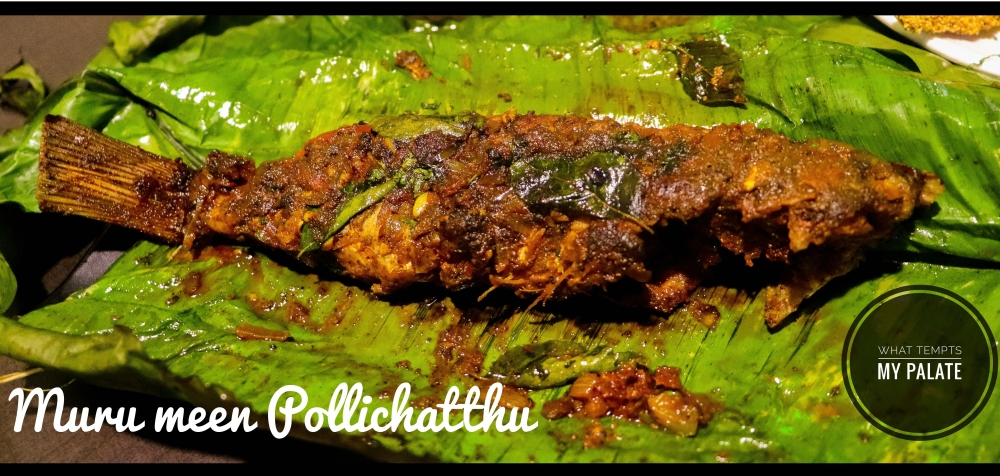 Muru Meen Pollichatthu at Fish Garage, Chillimbi, Urwa, Mangalore - What tempts my Palate
