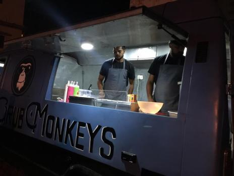Grub Monkeys Food truck, Manipal - owners Rohan Mahendranath and Mueen Ahmed -What tempts my Palate
